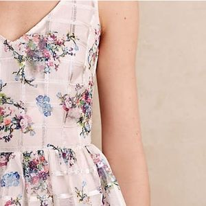 NWT Anthropologists Floral A-line Dress